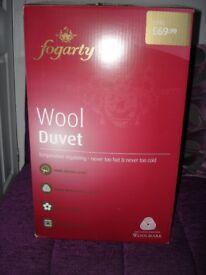 Fogarty King Size Wool All Seasons Duvet