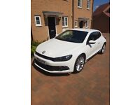 Scirocco 2.0 TDI Bluemotion Tech in Candy White