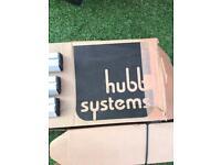 Hubb VECTA ROOF BARS 3 Bar System Peugeot Expert 2016-Onwards HS04-34
