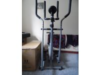 2 in 1 ProFitness cross trainer/cycle