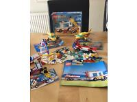 LOTS OF LOVELY VINTAGE LEGO SETS