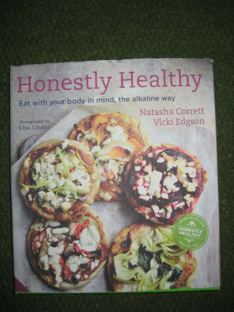 Honestly Healthy Cookery Book in Hardback by Natasha Corrett and Vicki Edgson