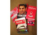 ARSENAL MERCHANDISE IDEAL GIFT AUTHENTIC BOOKS