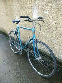 "Sunn Solo Road hybrid city bike new saddle 10 speed men's 23"" frame ** Bristol UpCycles**"