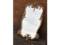 Stunning detailed vintage antique style mirror