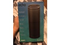 Amazon Echo, brand new for sale.