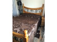 Double Bed ( WOOD)