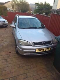 Silver astra with service history