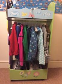 Fairy dress up storage centre