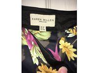 Karen millon skirt and top