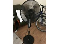 Perfect multi speed fan with various settings - all you need to keep cool or dry clothes!