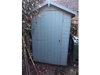 Used garden shed, 4'x6', buyer to dismantle and collect, £45