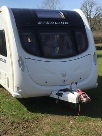 Lovely Sterling Eccles Amethyst Caravan 2011 £14950 inc Motor Mover