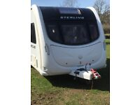Lovely Sterling Eccles Amethyst Caravan 2011 £14950 inc Motor Mover