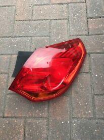 Vauxhall Astra 2010 rear light