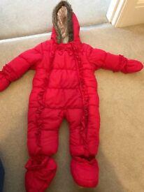 6-9 snow suit