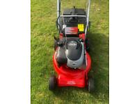 Rover self drive lawnmower immaculate serviced sharpened key/pull start alloy deck 5hp mower NEW Bat