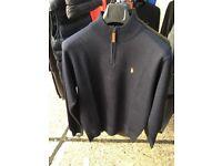 RALPH LAUREN 1/4 zip jumpers wholesale