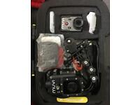 Action camera with waterproof case