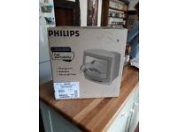 """Phillips 14"""" colour CRT TV"""