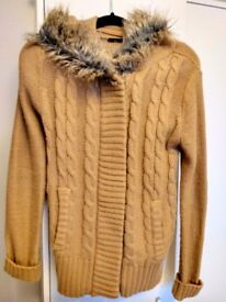 £5-Brown Cardigan from Primark-size 10-Good condition.Used only a few times due to wrong size for me
