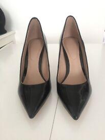 BRAND NEW - ALDO black patent leather heels size 4/36