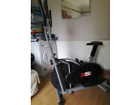 Cross trainer and excercise bike