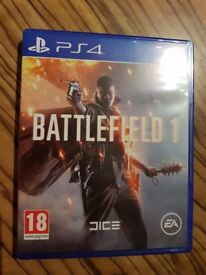 BATTLEFIELD 1 - PLAYSTATION 4 (PS4) GAME