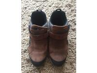 Dubarry leather trainers - as new!