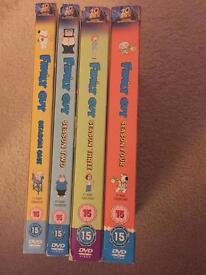 Family Guy DVDs season 1-4