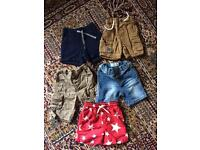 Boys 12-18 month shorts bundle