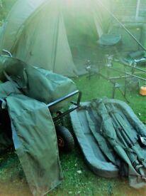 Carp Fishing Job Lot, Nash, Shimano, Chub, Rods, Alarms, Bivvy ETC