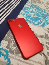 iPhone 7 Red 256GB Unlocked Immaculate Condition