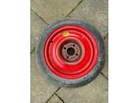 Car spare wheel