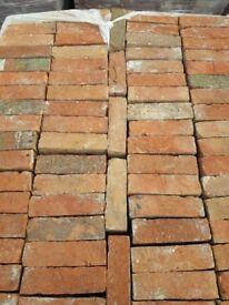 Reclamied soft red bricks