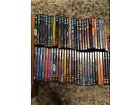 57 x DISNEY DVDS