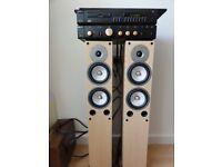 British Vintage Hifi Arcam 5 amp and Arcam 5plus Cd player Gales speakers