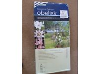Brand new, Gardman Classical Garden Obelisk. Unopened in packaging.