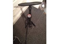 Bike foot pump, £10