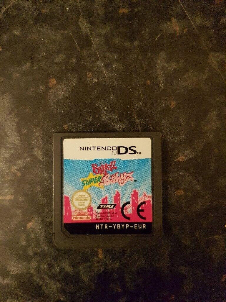 Bratz Super Babyz game for Nintendo DS