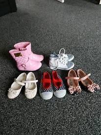 Size 7 girls shoes boots bundle