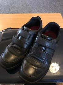 Clark's boys school shoes ( black )