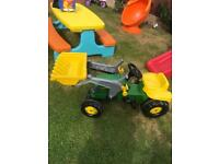 John Deere kids ride on tractor 40 ono