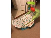 Summer infant caterpillar baby bath seat