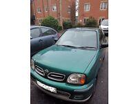 NISSAN MICRA (ACTIV) Y-REG - 2001, 3 DOOR - 1.0 LITRE - £499