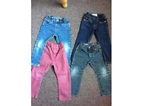2-3 & 3-4 years jeans.