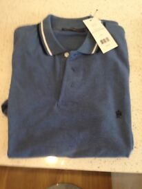 large new with tags mens designer tops