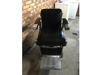 Barbers chair for sale