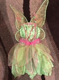 Age 3-5 Tinkerbelle costume