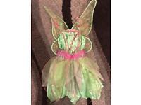 Age 3-5 Tinkerbelle costume